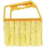 fendii Bürste Jalousie sauber Staub von Lamellen Mini Duster Pinsel waschbar einfaches