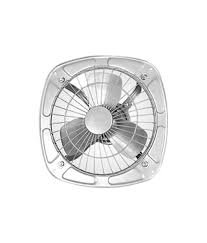 Crompton Greaves Freshair 3 Blade 225mm Exhaust Fan (9-inch, Grey)