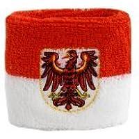 2er Set Flaggenfritze/® Schwei/ßband Deutschland Brandenburg