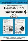 Heimat- und Sachkunde (Stundenbilder), 4. Jahrgangsstufe