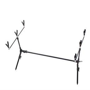 Ultra Fishing – Soporte rod pod para cañas de pescar con indicadores de picada