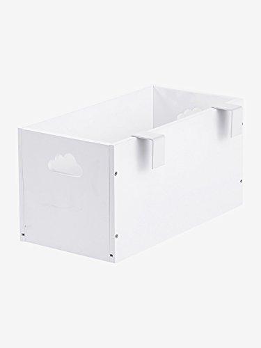 VERTBAUDET Boîte de rangement spéciale table à langer Blanc TU