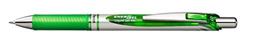 Pentel BL77-KX Gel-Tintenroller EnerGel BL77 mit Druckmechanik, 0,7mm, 1 Stück, trocknet blitzschnell, kein Verschmieren