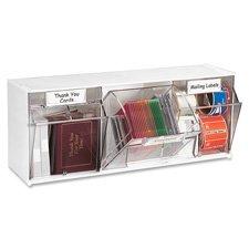 Interlocking Craft Storage Tilt Organizer 9 Bins-23.6