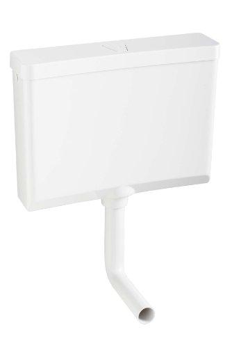 Wisa 8050423100 WISA-Spülkasten Modell 670 6-9 Liter mit Spül-Stopptaste, weiß