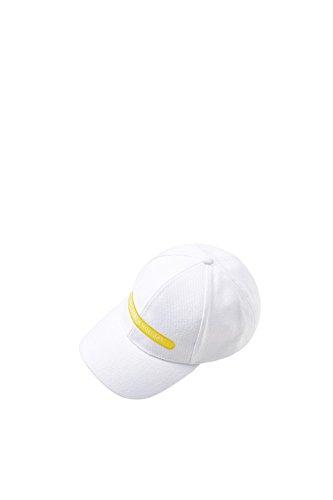ESPRIT Accessoires Damen Baseball Cap 078EA1P001 Weiß (Off White 110) One Size