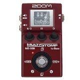 Zoom MS-60B Pédale multi-effets pour Guitare Basse