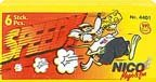 Speedy Bodenfeuerwirbel Ganzjahres-Feuerwerk 6 Stück