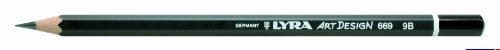 Bleistift LYRA ART Design 178x7mm 9B PG/12ST