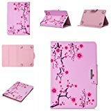 Uliking Universal Case for 8 inch Tablet, Slim PU Leather Folio Stand Cover