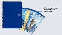 Preisvergleich Produktbild Oxford 100050225 Office Collegeblock - A4, kariert, blau