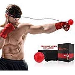 Champs Boxing Reflex Ball Fight Vitesse Apprenez Les Techniques De Base Des Arts Martiaux, Perdez Du Poids, Améliorez Votre Temps De Reaction, Fitness, Cardio Confiance