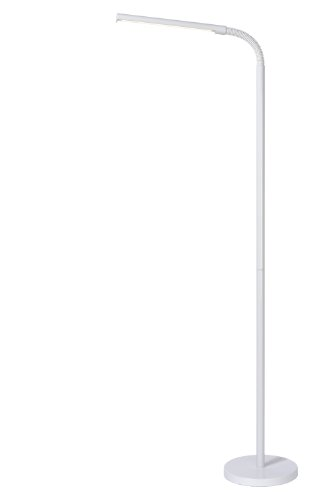 Lucide GILLY - Lampadaire / Lampe De Lecture - LED - 1x5W 4000K - Blanc