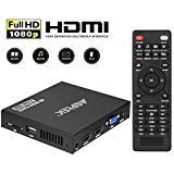 Best Hdd Media Players - Media Player, 2 HDMI Ports 1080P Full-HD Portable Review