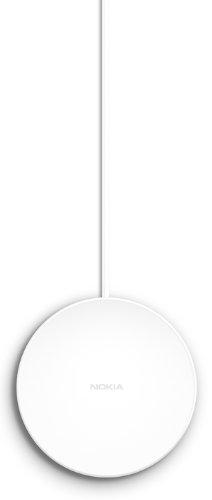 Nokia DT-601 Wireless Charging Plate Drahtloses Tragbares Ladegerät Kompatibel mit Nokia Lumia 820/920/925/1020 und 1520 - Weiß