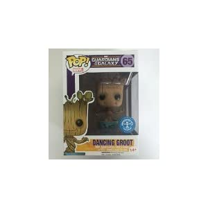 Funko Pop Dancing Groot con «I am Groot» en tiesto (Guardianes de la Galaxia 65) Funko Pop Guardianes de la Galaxia