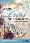 Leichte Trios Fuer 3 Trompeten. Trompete, Horn, Klarinette (3 Leichte Trios)