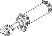Preisvergleich Produktbild Festo 565755 Modell dwb-63–150-y-g Scharnier Zylinder