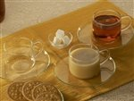 Borosil Piccolo Cup and Saucer Set, 150m...