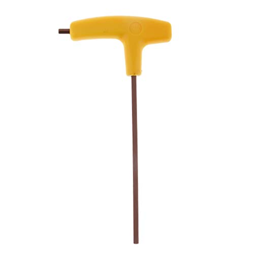 4mm Hex Key Wrench (FLAMEER Innensechskantschlüssel mit T-Griff, Sechskant-Schraubendreher Hex Key Wrench - 4 mm)