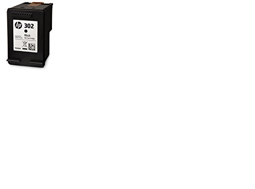 HP 302 Black Original Ink Cartridge - Cartucho de tinta para impresoras (Negro, Estándar, 3,5 ml, 20 - 80%, -40 - 60 °C, 15 - 32 °C)