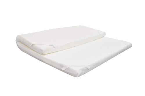 Duérmete Gran Confort - Colchón Topper Viscoelástico con Visco Gel, para cama de 80 x 180 x 5 cm