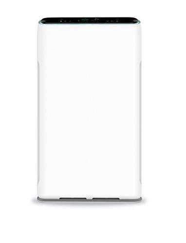 HEPA-Luftreiniger AirMex AP 004 vollautomatisch durch Luftqualitäts-Sensor, 6-Stufen-Luftfilter zur wirksamen Filterung von Staub, Bakterien, Viren, Pollen, Gerüchen - ideal für Allergiker, Raucher oder Haustierhalter