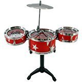 #8: Amity Impex Toys Musician Jazz Drums,Childrens Toy Musical Instrument Drum Play Set.