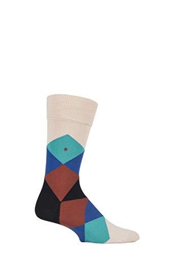 Burlington Clyde Herren Socken Sandstone (4024) 40-46 One size fits all (Gr. 40-46) - Diamant-spitze-socken