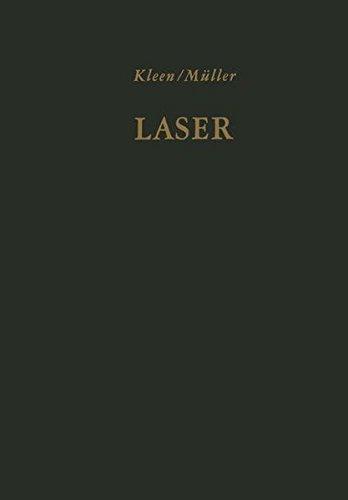 Laser: Verstärkung durch induzierte Emission. Sender optischer Strahlung hoher Kohärenz und Leistungsdichte