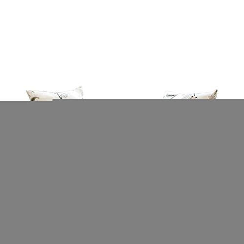 Guiran 1/2/3/4 Sitzer Sofabezug Sofaüberwurf Stretch Weich Elastisch Farbecht Blumen-Muster Hussen Für Sofa Stil 5 1 Kissenbezug (Hat Innen) -