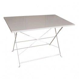 Hespéride Le Depot BAILLEUL - Table rectangulaire Pliante 110x70cm Camargue Taupe