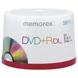 memorex-05732-dual-layer-dvd-r-discs-85-gb-50-pk-by-imation