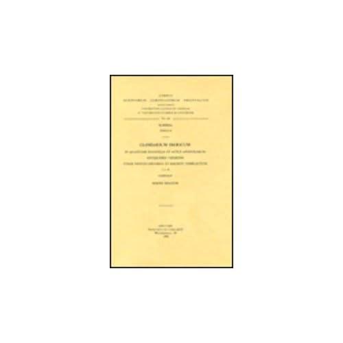 Glossarium Ibericum in Quattuor Evangelia Et Actus Apostolorum Antiquioris Versionis Etiam Textus Chanmeti Et Haemeti Complectens, I. Subs. 20.