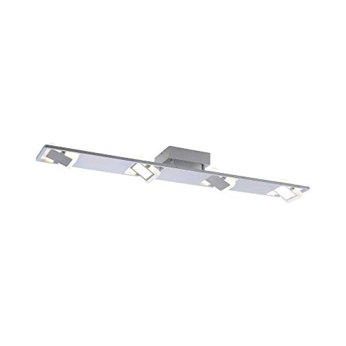 Paul Neuhaus 8310-95 Q-GAEL LED Deckenlampe 4er Spotleiste Smart Home für Alexa, inkl. Fernbedienung RGBW Farbwechsel, dimmbar