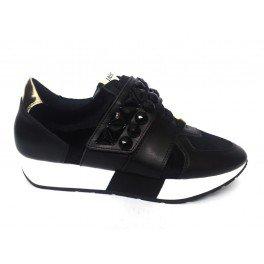 LIU JO RUNNING GERANIO S66007 P0169 sneakers donna - Nero, EUR 38