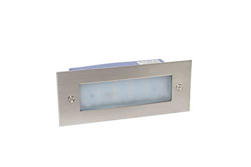 LineteckLED -020551- Indicador LED rectangular empotrable 7 W luz fría 6000 K
