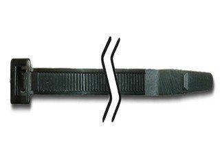 19,3cm schwarz Kabelbinder Nylon 22,7Tasche von 100