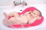 Pomfitis C1234 Sinky Gepolsterte Baby Badewannensitz, rosa