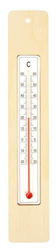 EDUPLAY 210215Fliesenschneider 4x 23x 0,3cm Thermometer im Holzrahmen