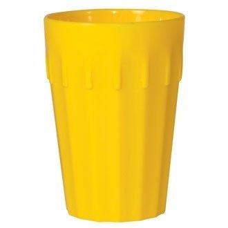 20 Restauration ce270 Kristallon en polycarbonate Gobelets, 142 ml, jaune