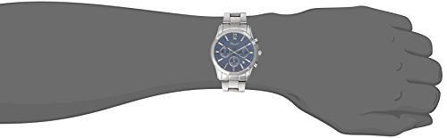 Kenneth Cole New York Men's 10021098 Dress Sport Analog Display Japanese Quartz Silver Watch