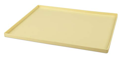Zenker Biskuitrollenmatte CANDY, Rollmatte aus Silikon, Backblech für Kuchen (Farbe: Creme), Menge: 1 Stück Jelly Roll Pan