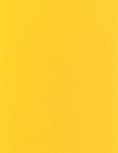 KEVKUS Wachstuch Tischdecke Meterware unifarben gelb Uni 109 (170x130 cm oval)