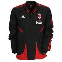 adidas Tuta Milan ACM Pre Suit Storica Nero Black (7-186 cm) 5f8bb3844109