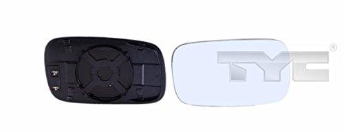 Tyc DAPA GmbH & amp ; Co. KG 33701101 Verre Miroir côté conducteur