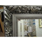 NEW ORNATE SILVER LONG AND FULL LENGTH DRESIING MIRRORS - VARIOUS SIZES AVAILABLE (Plain Mirror Glass, 20