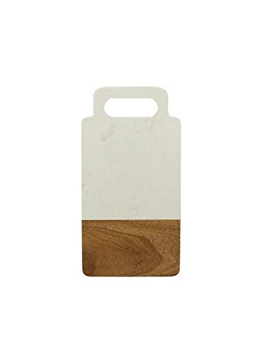 Schneidebrett 26x 13x 1,3cm Effekt Marmor & Akazie OGO