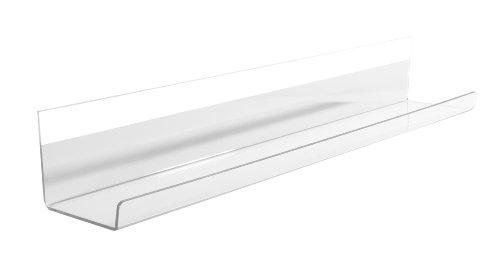 SIGEL GL198 Stifteschale für Boards, 50 cm, Acryl glasklar, Artverum - weitere Größe