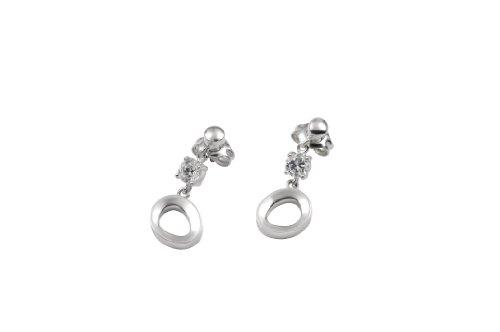 FOSSIL Damen-Ohrringe 925 Sterlingsilber JF14815040